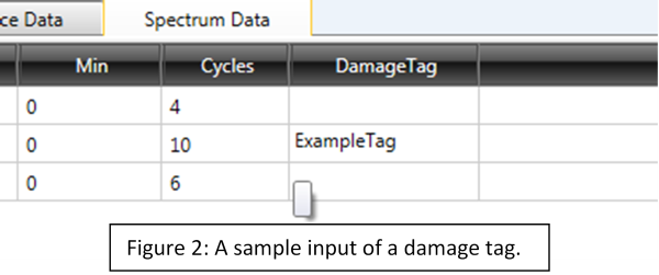 SpectrumManager Damage tags